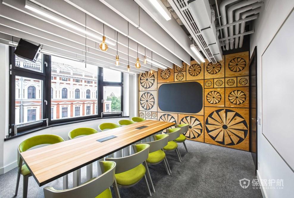有艺术格调的办公会议室装修效果图