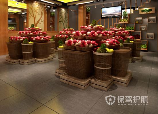 热门水果店如何设计 热门水果店设计四大点