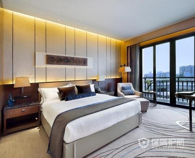 現代商務酒店房間裝修效果圖