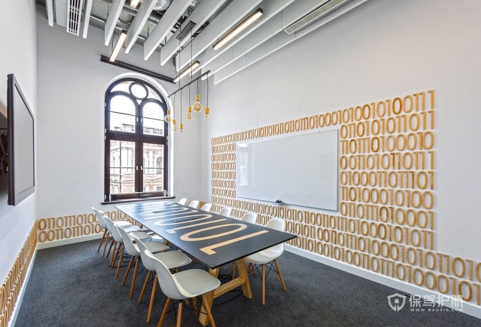 大户型办公会议室装修效果图