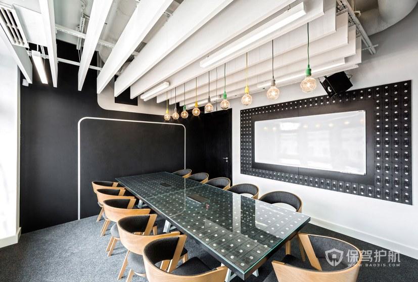 新古典风格会议室装修效果图