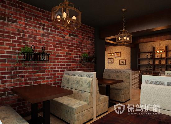 田园风格咖啡厅装修效果图