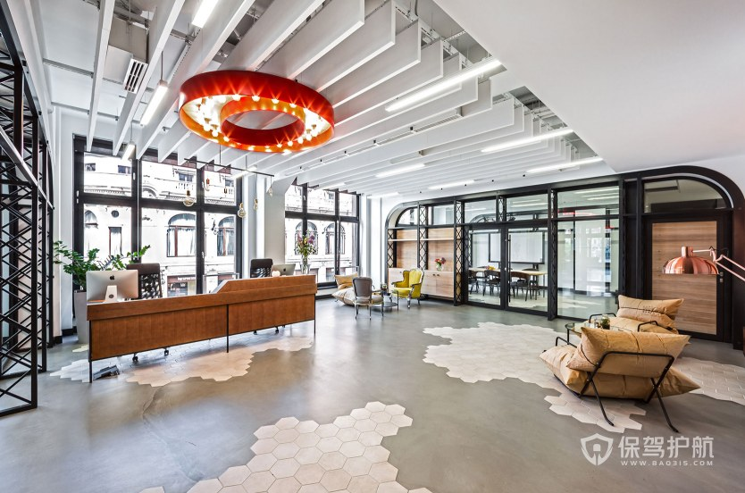 北欧风格领导办公室装修效果图