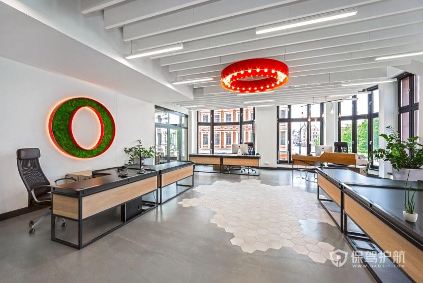 北欧创意领导办公室装修效果图