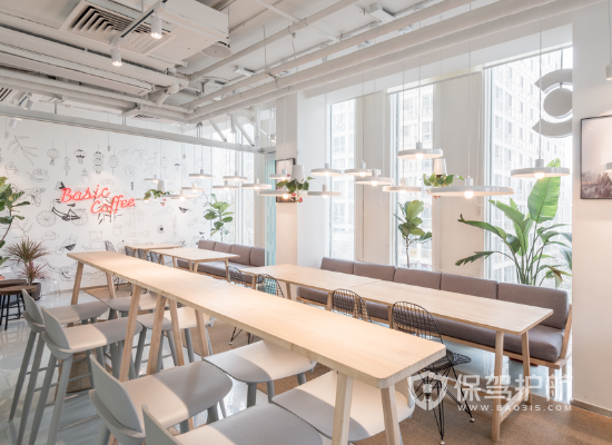 韩式风格咖啡厅装修效果图