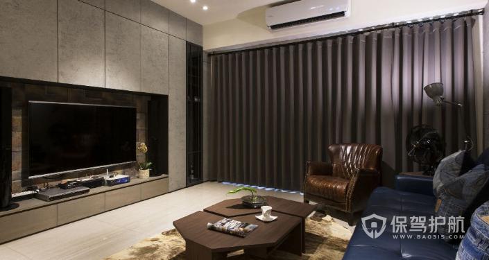 客厅电视墙设计图片-保驾护航装修网