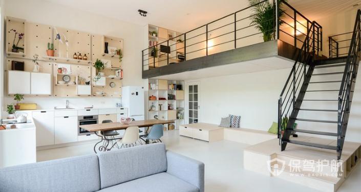 50平米loft公寓装修图,50平米loft公寓装修技巧