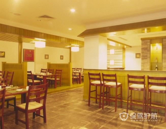 明清中式餐厅装修效果图