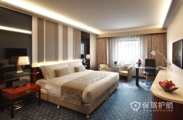 美式簡約酒店臥室裝修效果圖