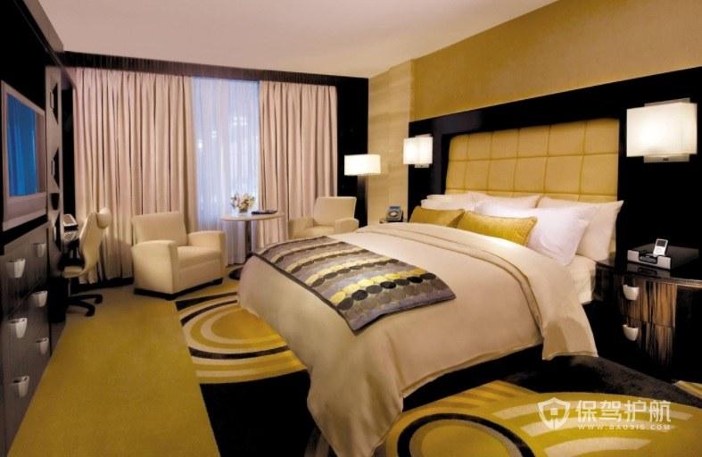 米兰风情酒店房间装修效果图