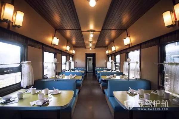 80平特色火车主题小餐馆装修效果图-保驾护航装修网