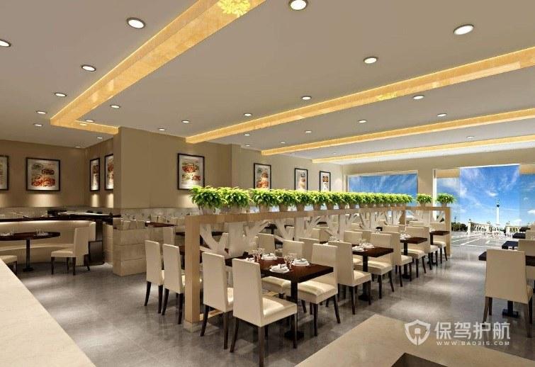 100平饭店装修价钱是多少?饭店怎么装修美观实用?