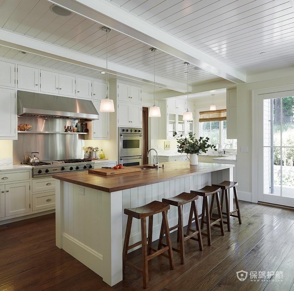 开放式厨房装修技巧 开放式厨房装修效果图