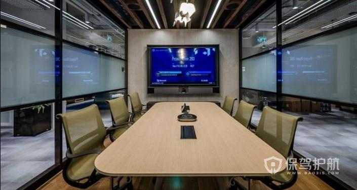 办公室小型会议室装修效果图