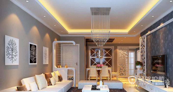 客厅吊顶装修流程,客厅吊顶装修效果图