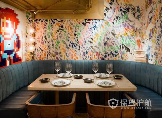 巴洛克风格餐厅背景墙装修效果图