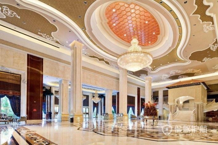 法式豪華酒店大堂裝修效果圖