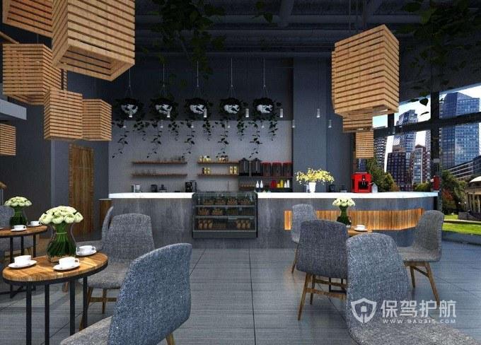 咖啡店五种装修风格推荐:咖啡馆适合什么装修风格?