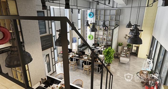 loft办公室灯饰装修效果图