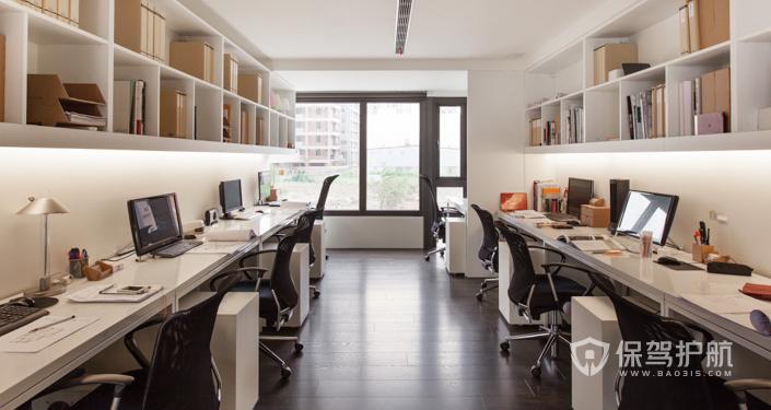 小型欧式办公室装修效果图