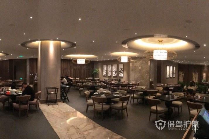 简欧大餐厅装修效果图