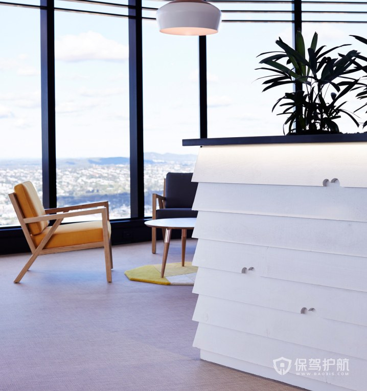 后现代风格办公室休闲区装修效果图