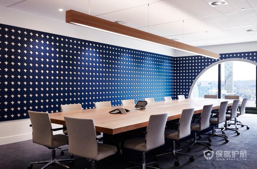 后现代风格办公会议室装修效果图