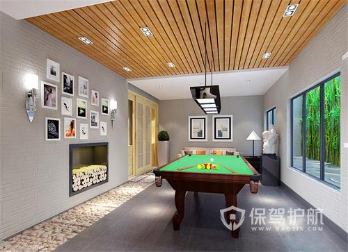 台球室装修预算需要多少钱?台球室适合哪些装修风格?