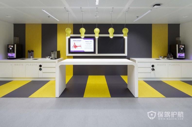现代简约风格办公室茶水区装修效果图