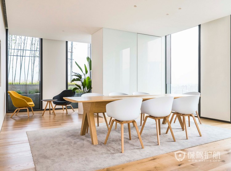北欧风格小会议室装修效果图