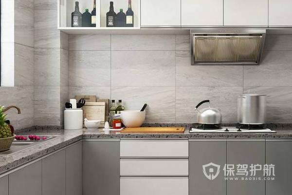 廚房設計效果圖-保駕護航裝修網