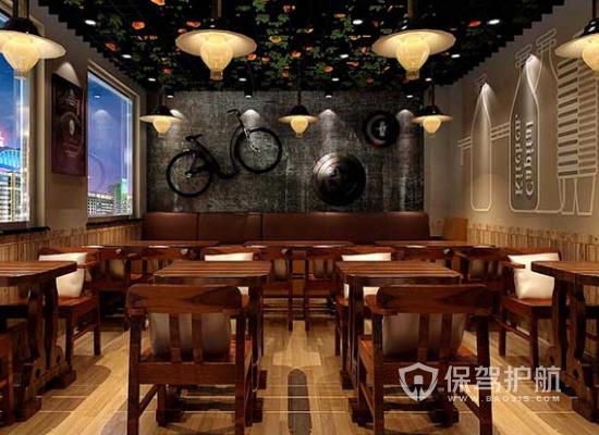 中式风格特色火锅店灯光设计效果图