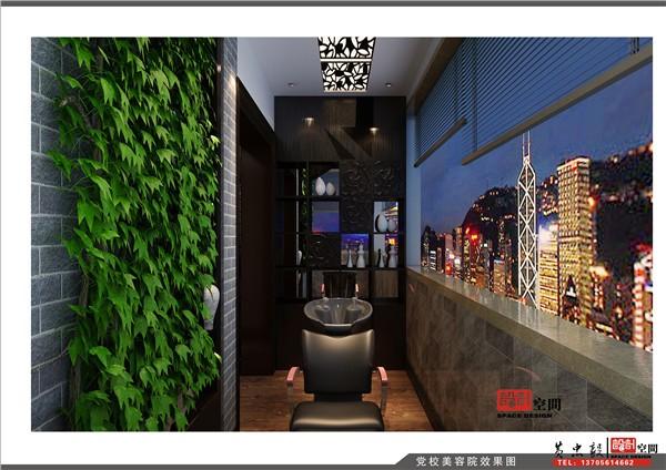 欧式风格美容院装修效果图片