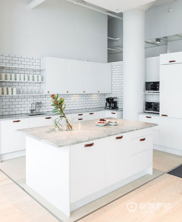 创意北欧风格办公室茶水区装修效果图…
