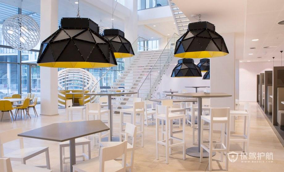 创意办公室就餐大厅装修效果图