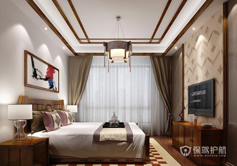 中式家装窗帘有什么特点?家装中式风格怎么搭配窗帘?