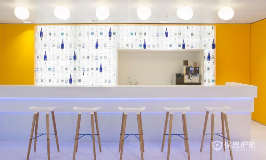 简约风格办公室茶水区装修效果图