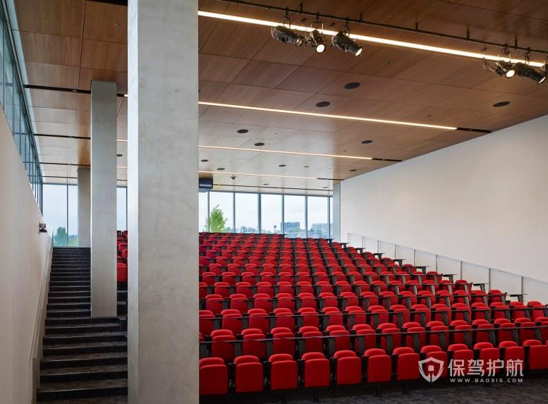 开放式会议大厅装修效果图