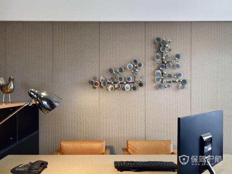 领导办公室墙壁装修效果图