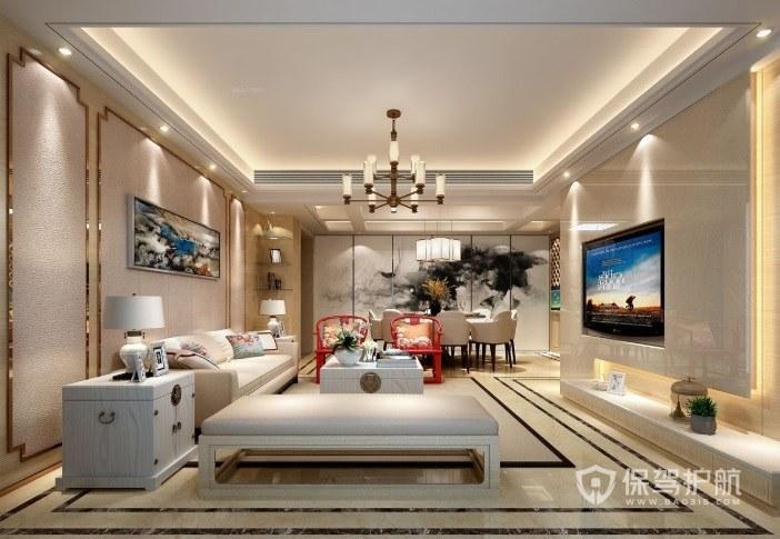 20平客厅用多大电视?客厅电视的尺寸怎么选择?