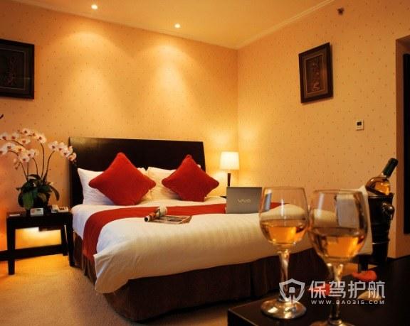 温馨英式酒店房间装修效果图