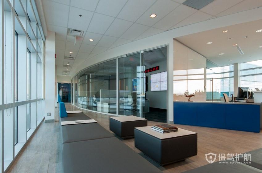 现代简约风办公室休息区装修效果图