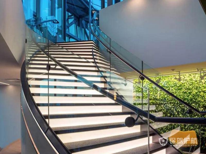 办公室楼梯装修效果图