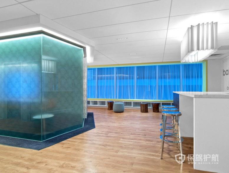 创意办公室茶水区装修效果图