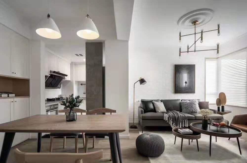 富雅名居现代风格四居室装修效果图