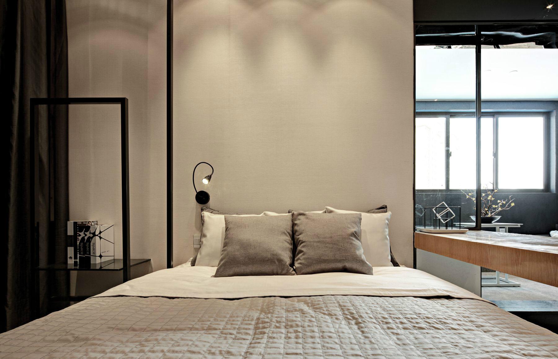 海伦国际84平二居室简约装修
