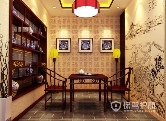 新中式茶室装修有哪些技巧?新中式茶室装修要点