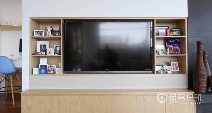 漂亮的电视墙-保驾护航装修网