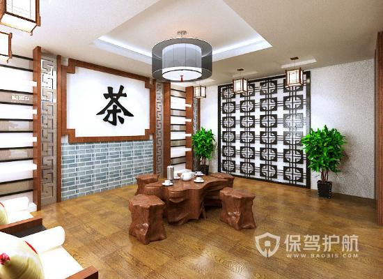 中式茶室怎么样设计好,中式茶室设计攻略