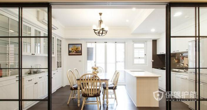 厨房门装修效果图,厨房门什么种类好?